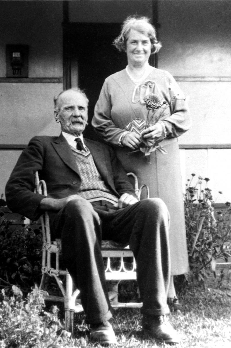 Jofn Frederick and Helen nee Warner