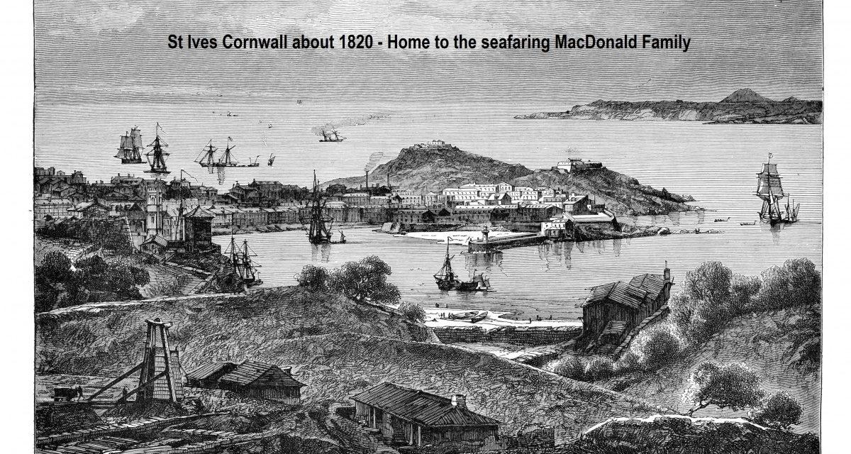 Captain William MacDonald – Mariner/Adventurer